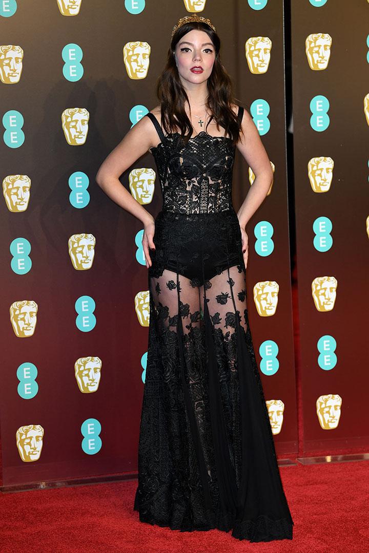 BAFTA 2018 Anya Taylor