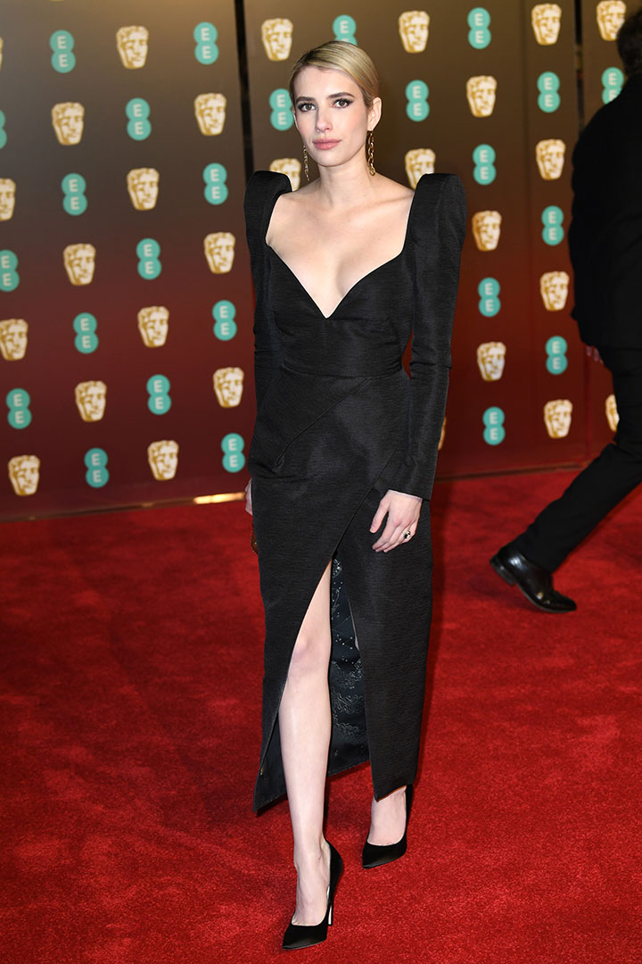 BAFTA 2018 Emma Roberts
