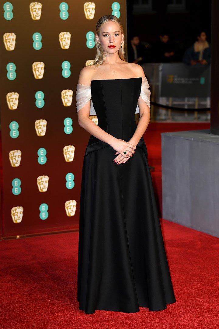 BAFTA 2018 Jennifer Lawrence