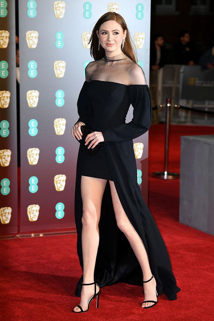BAFTA 2018 Karen Gillan