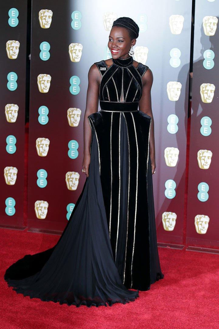 BAFTA 2018 Lupita Nyong'o