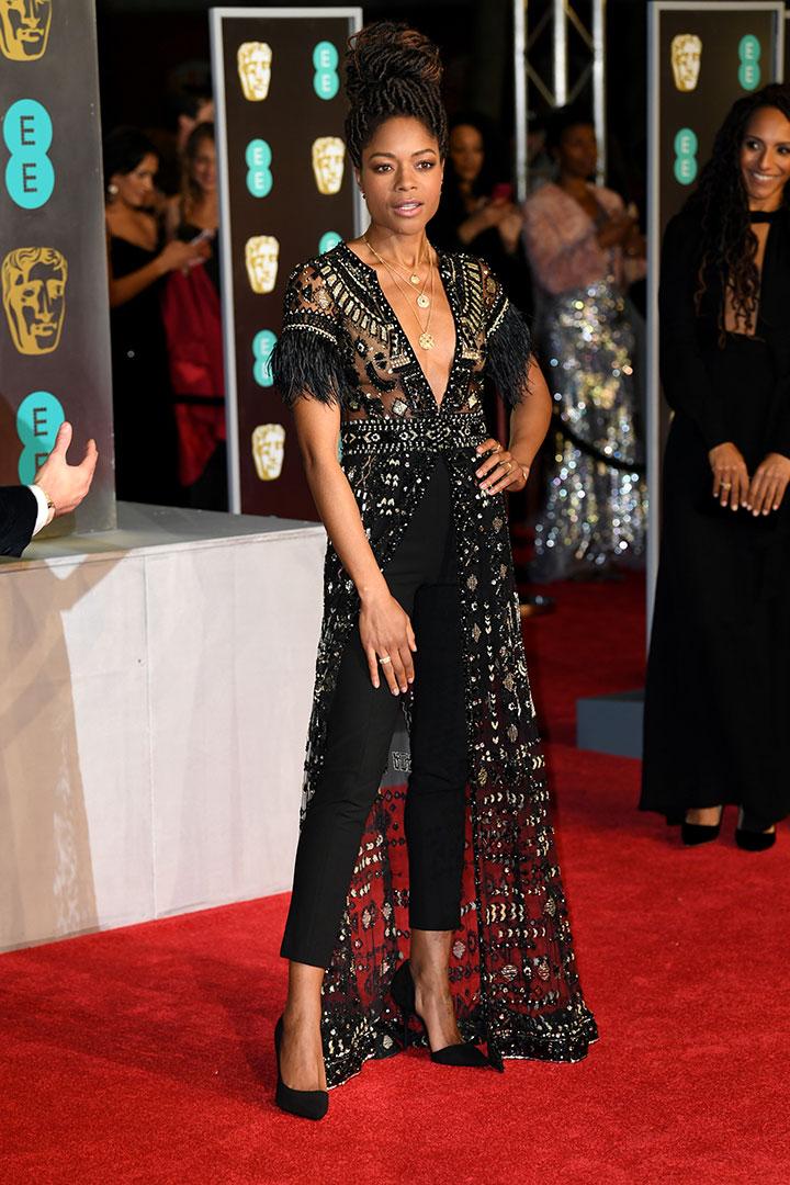 BAFTA 2018 Naomi Harris