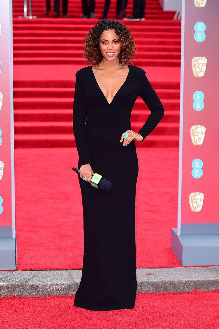 BAFTA 2018 Rochelle Humes