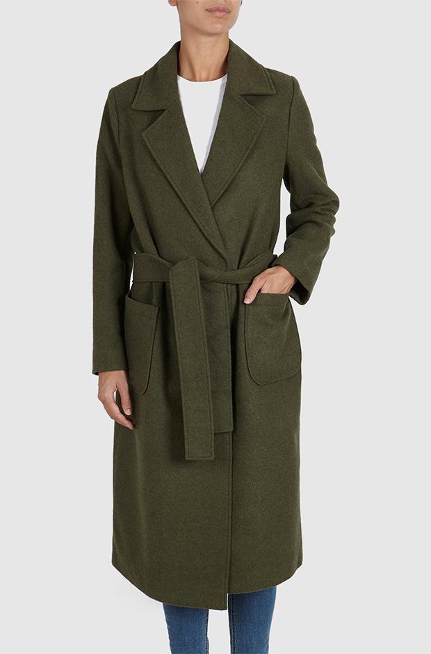 Abrigo verde de Pepe Jeans
