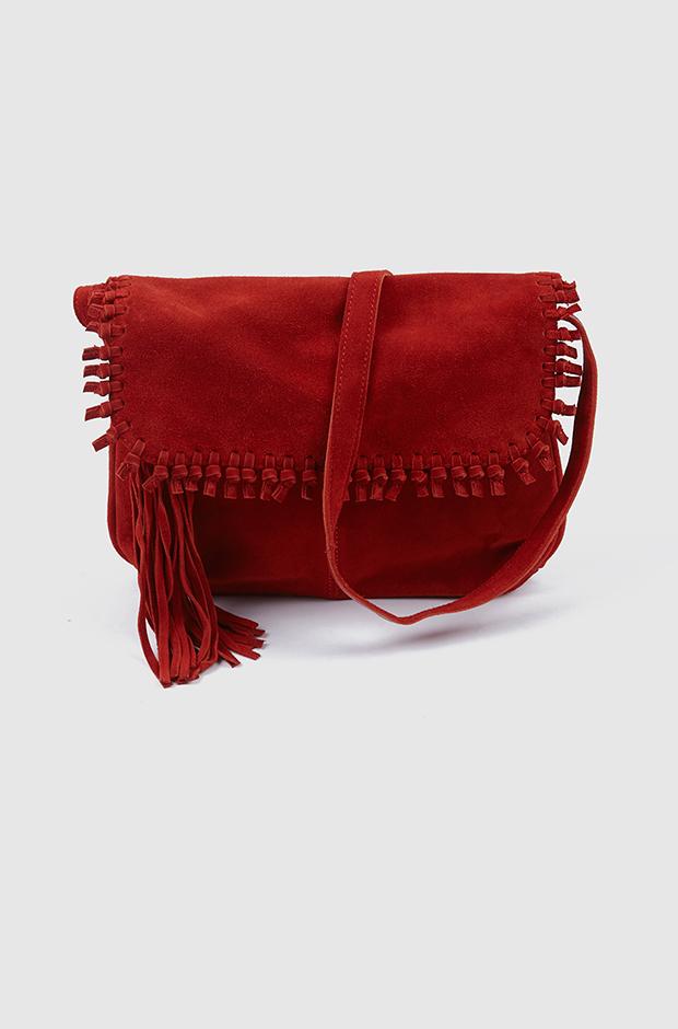 Regalos de navidad de Pepe Jeans: bolso rojo