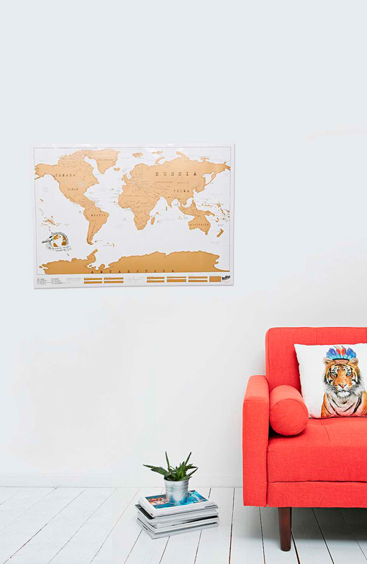 regalos amigo invisible urban outfitters mapa