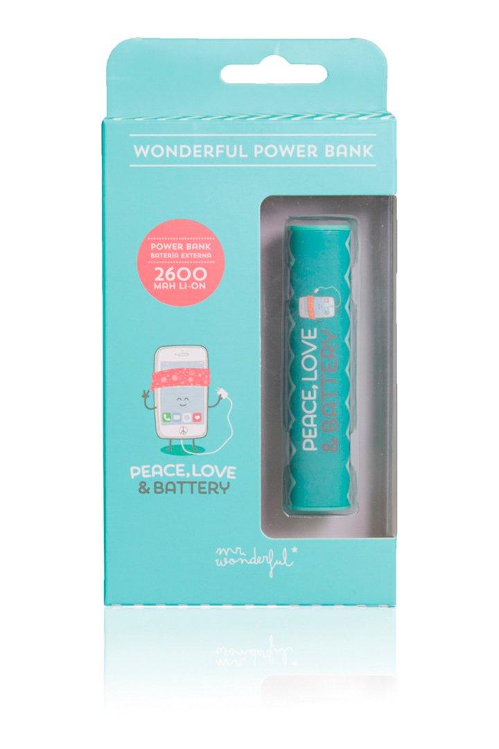 Regalos Tecnologicos Mr. Wonderful Bateria Portatil