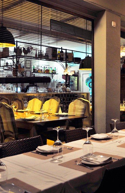 restaurantes cena de empresa el gallinero de sandra sevilla