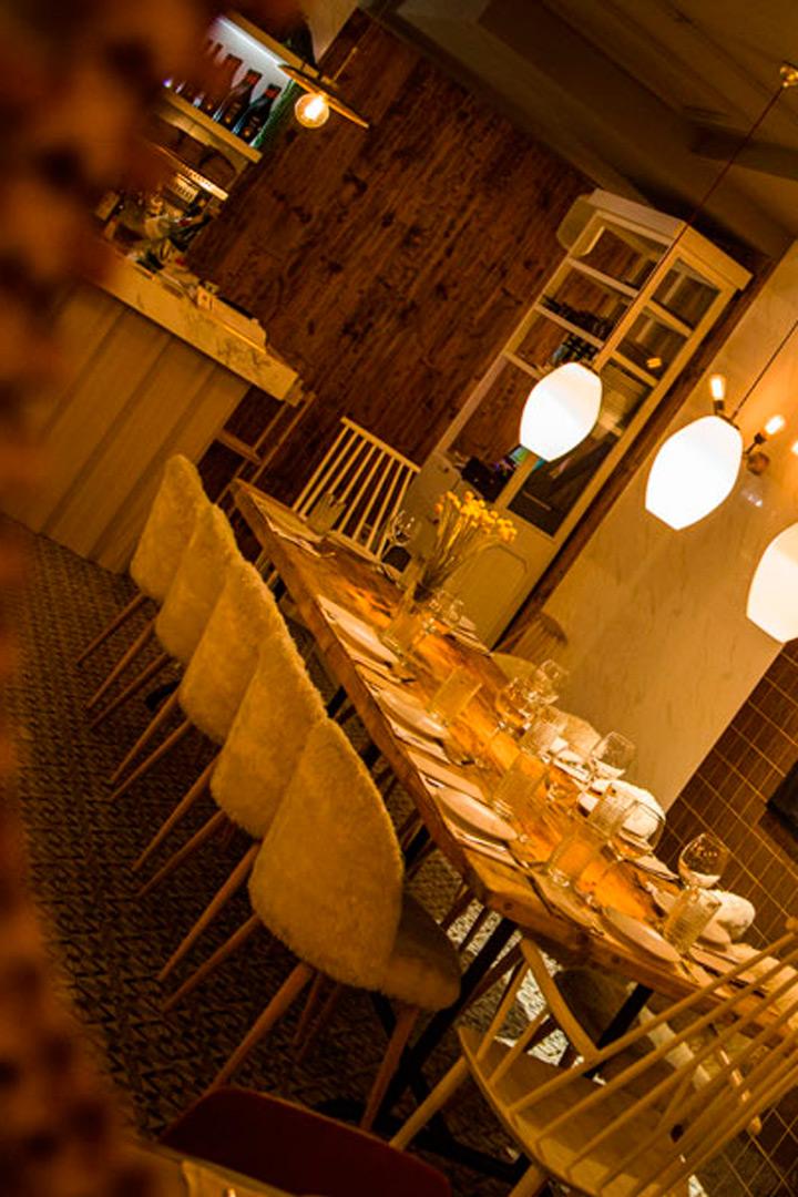 Restaurantes para cena de empresa Lady Madonna