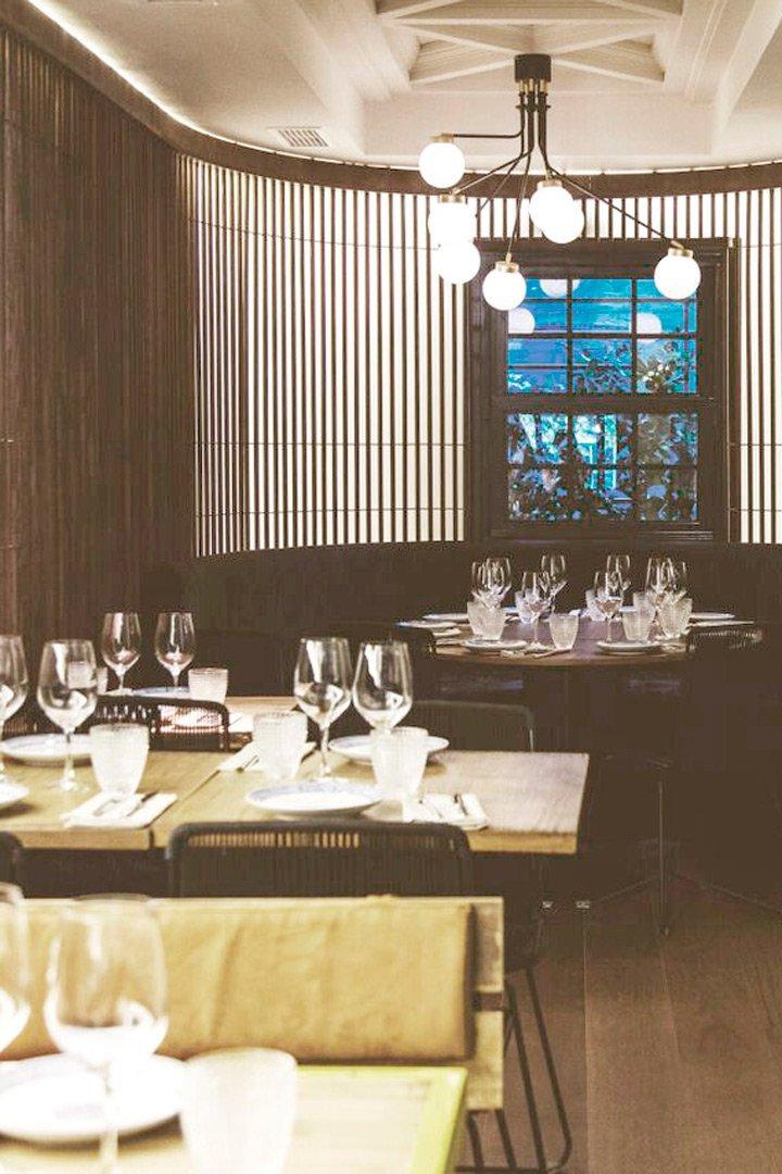Restaurantes para cena de empresa teckel Madrid