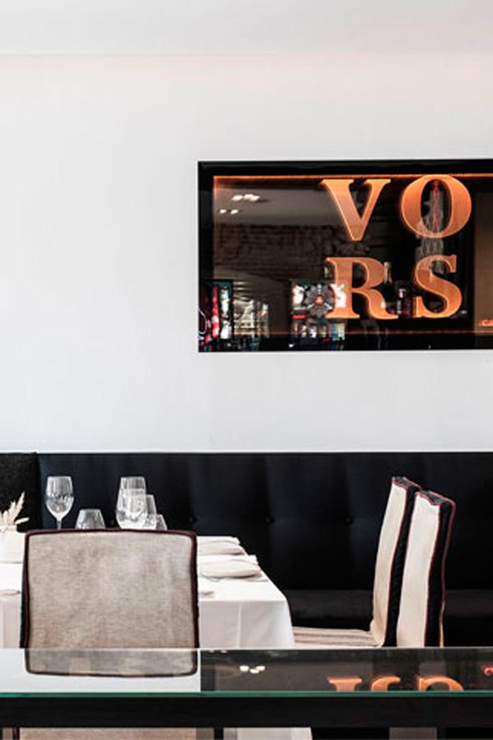 Restaurantes para cena de empresa vors santander