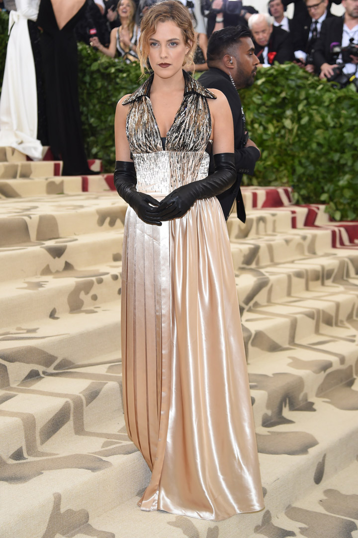 Riley Keough Looks Met Gala 2018
