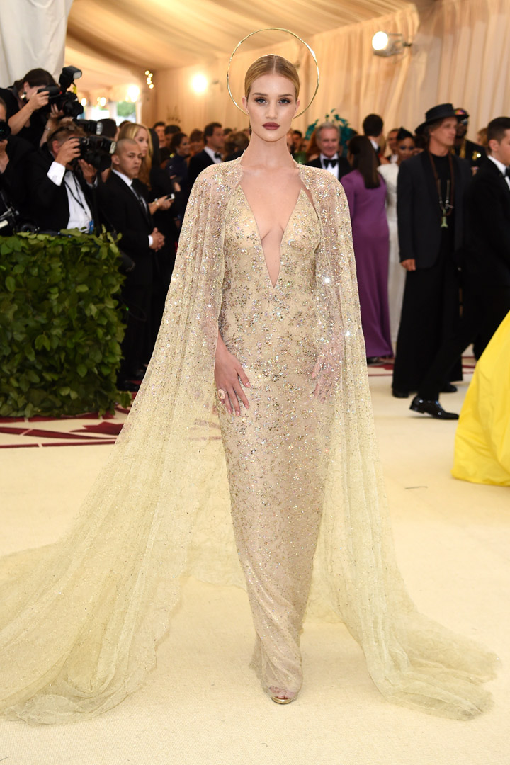Rosie Huntington Looks Met Gala 2018