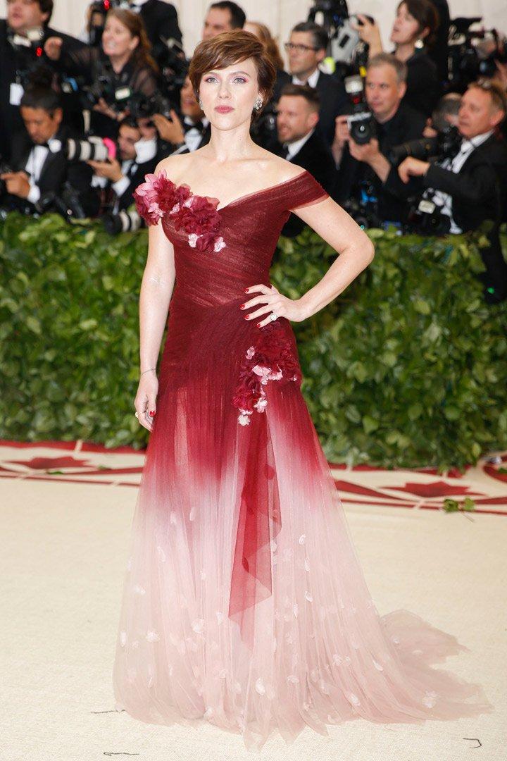 Scarlett Johansson Looks Met Gala 2018