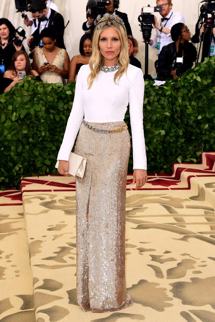 Sienna Miller Looks Met Gala 2018