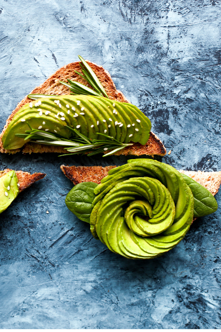 Aguacate: snacks sanos