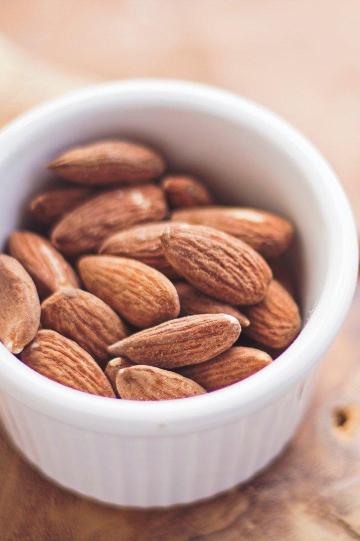 Almendras: snacks sanos