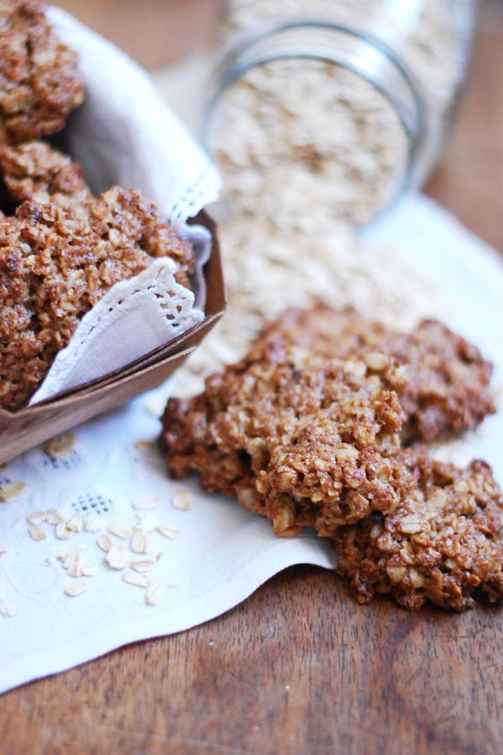 Galletas de Avena: snacks sanos