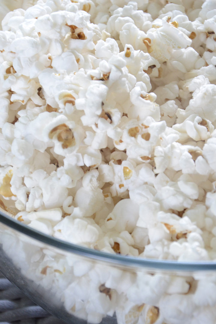 Palomitas: snacks sanos
