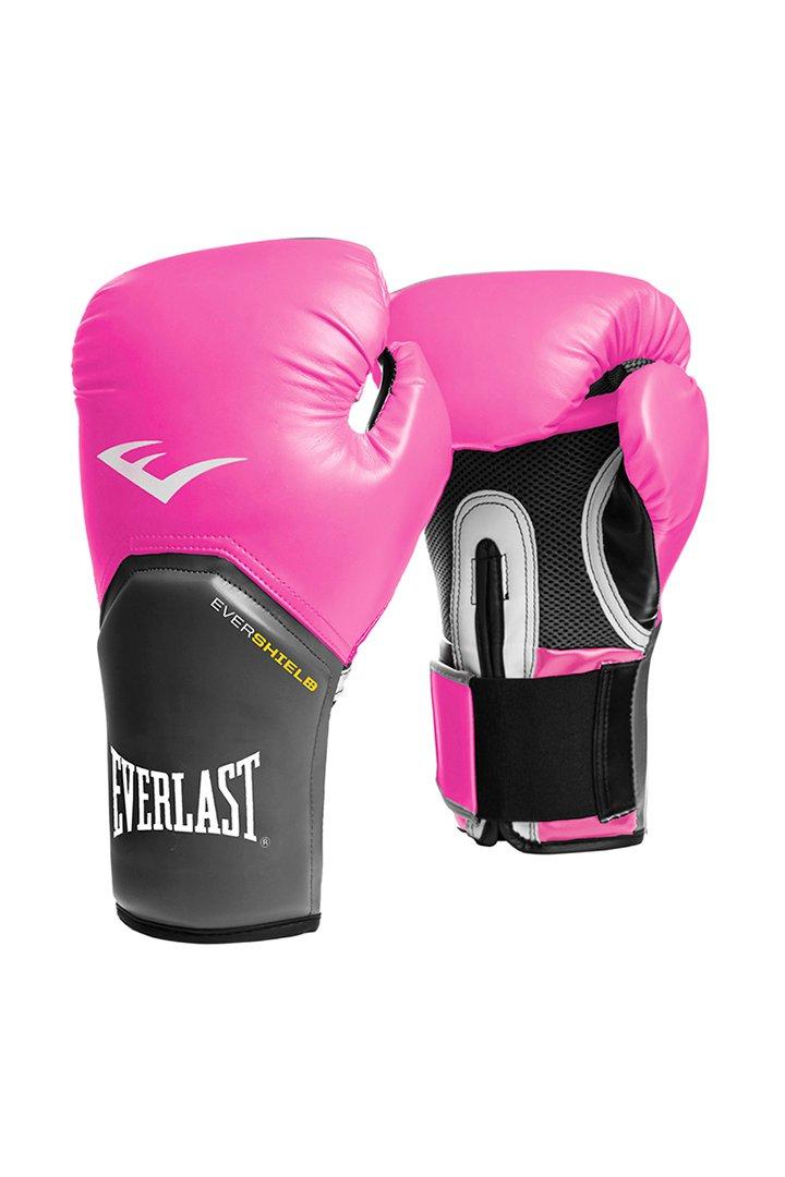 guantes rosas para boxeo