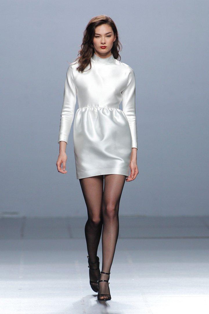 Vestido blanco The 2nd Skin Co. Otoño/Invierno 2016/2017