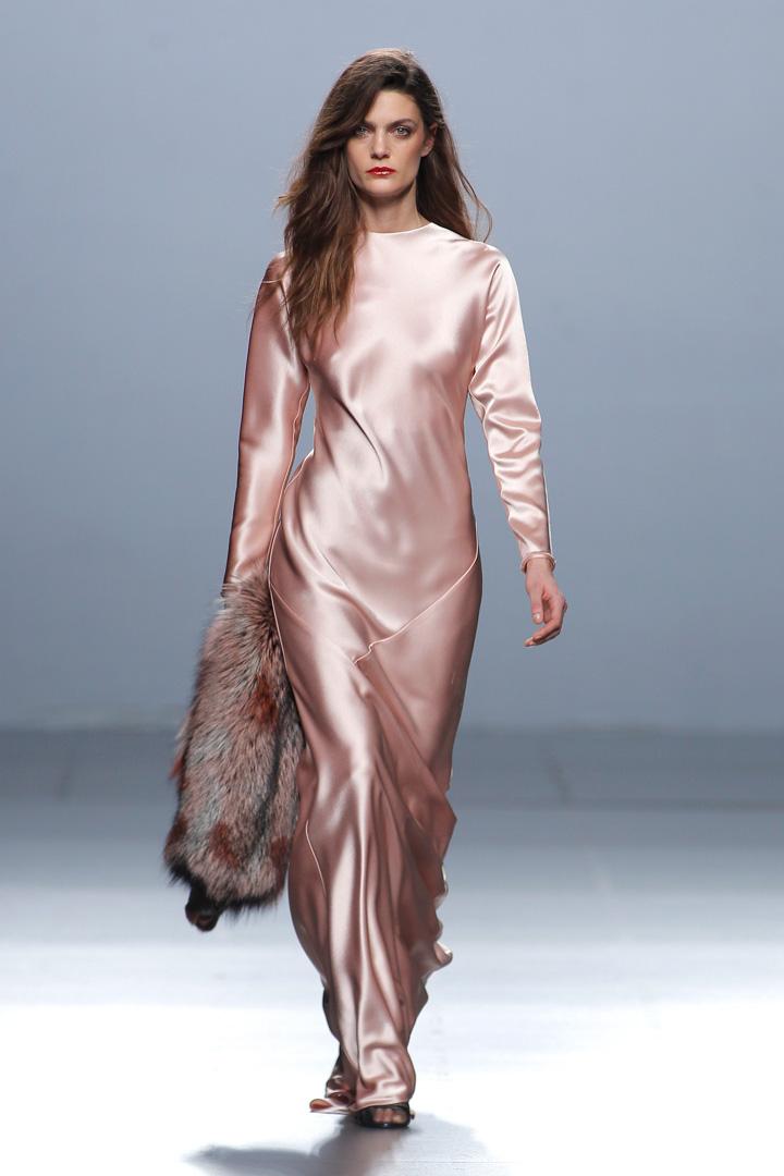 Vestido rosa The 2nd Skin Co. Otoño/Invierno 2016/2017
