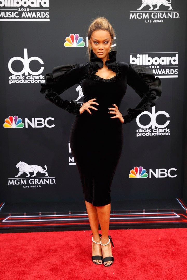 Tyra Banks Billboard Music Awards 2018