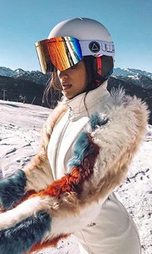 ULLER, las gafas de ski que han enamorado a Marta Lozano