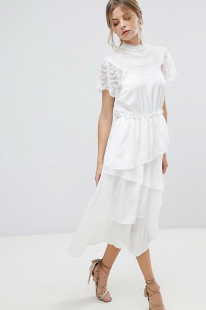 Vestidos De Novia Para Boda Civil Moda Stylelovely