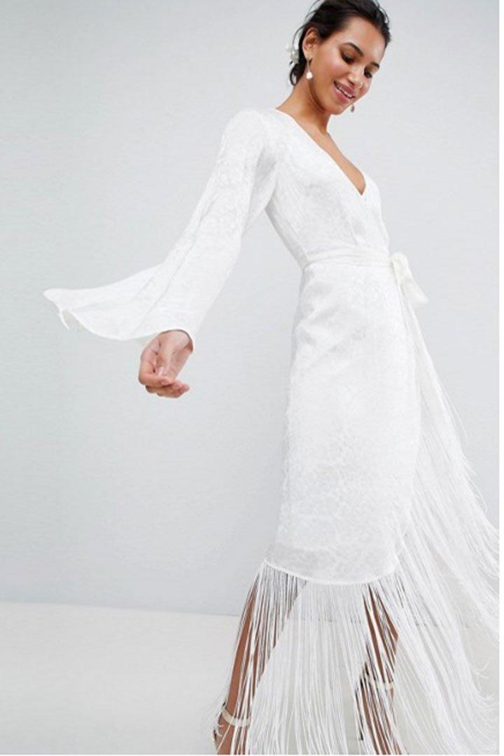 Vestidos de novia para boda civil precios