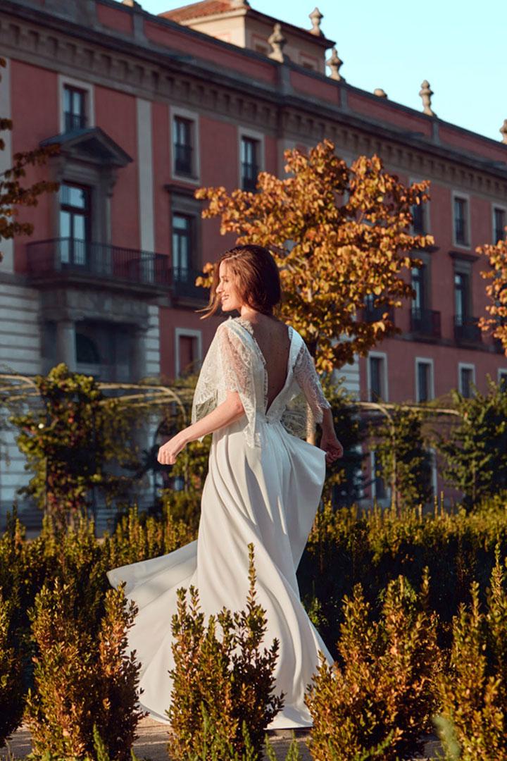 vestido de novia civil cotonnus aurora
