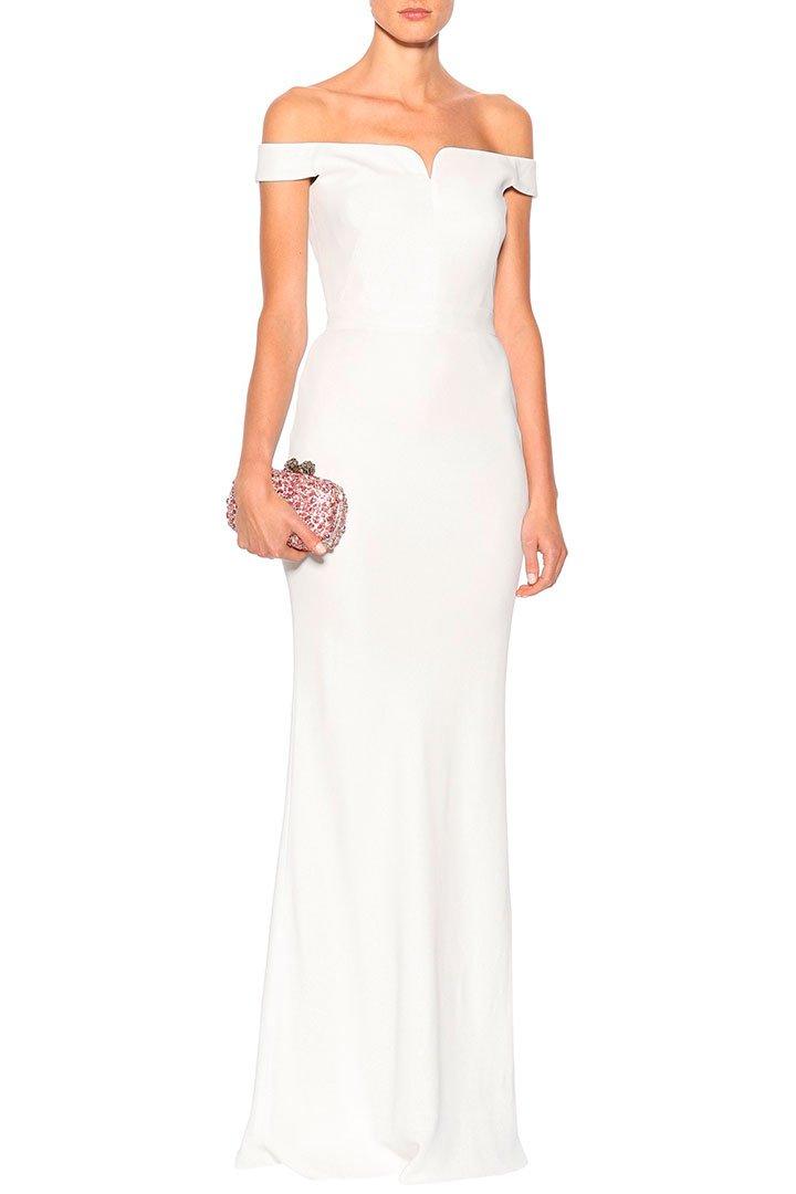5a41615990 Vestidos de novia para boda civil - Moda - StyleLovely