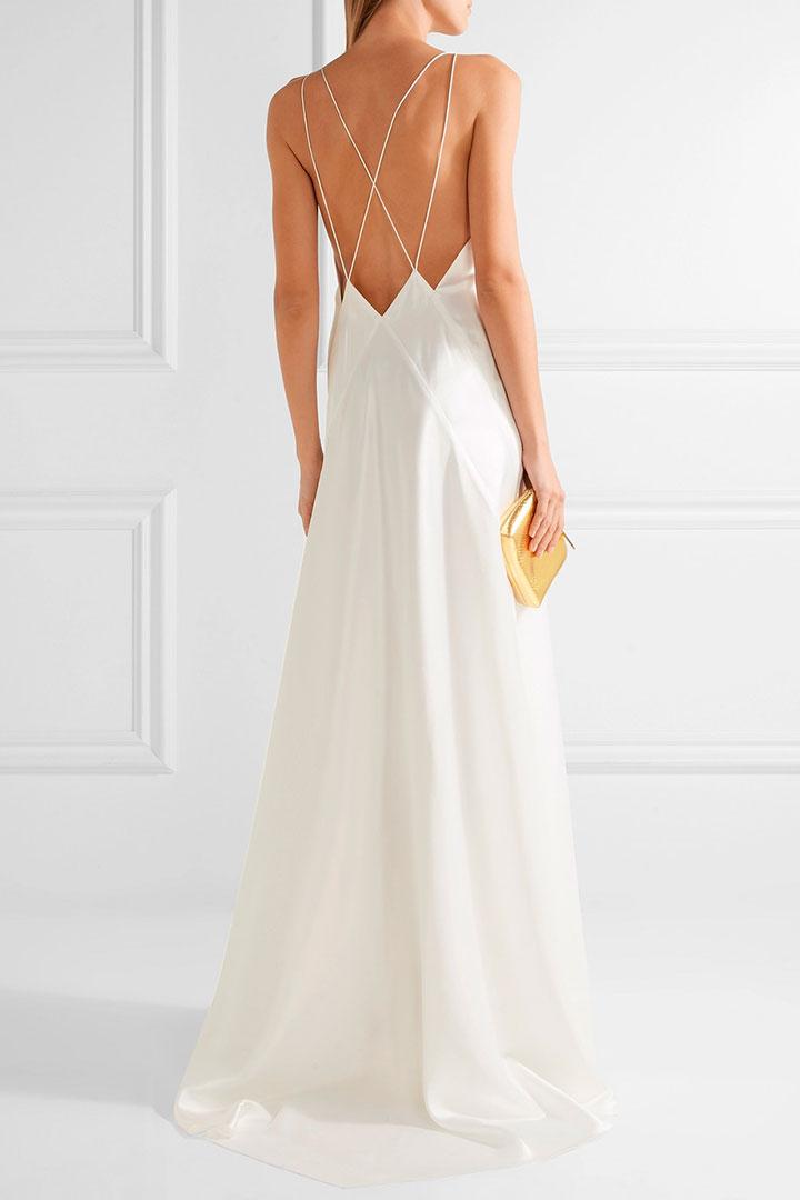 vestidos de novia para boda civil - moda - stylelovely