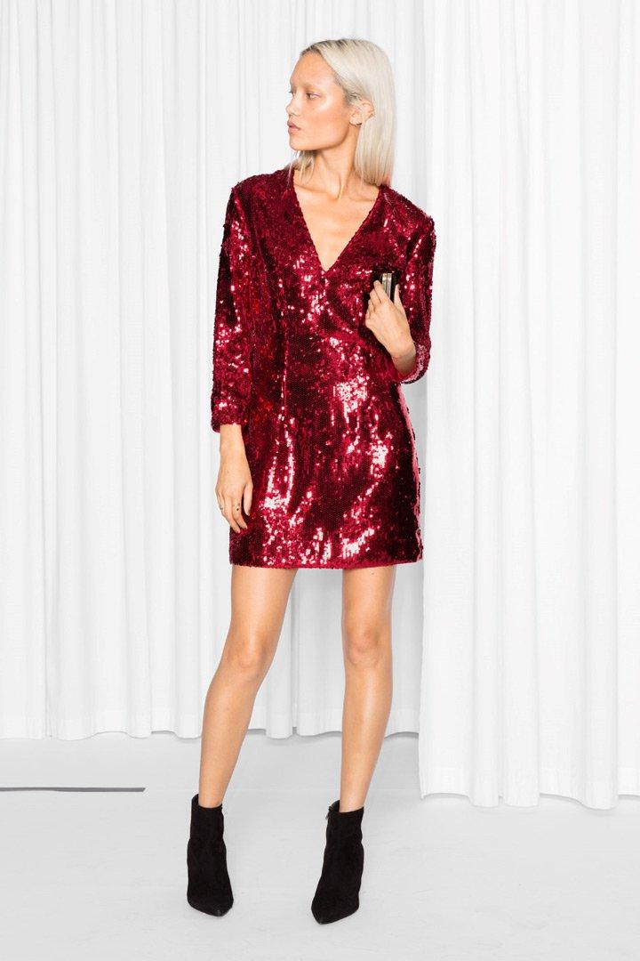 Vestidos rojos cortos para nochevieja
