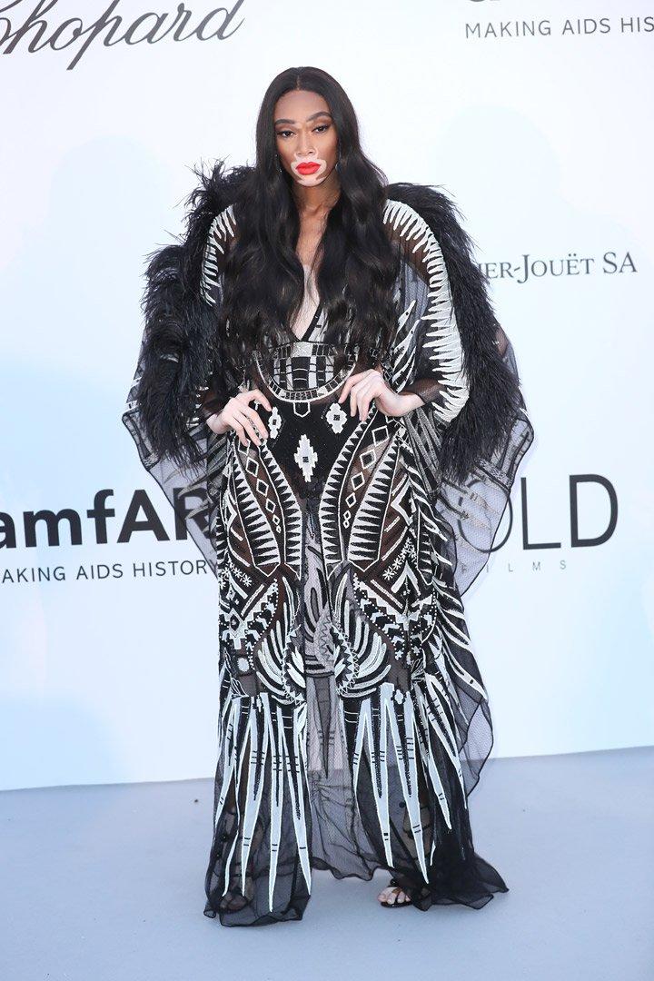 Winnie Harlow Gala amfAR 2018 Cannes