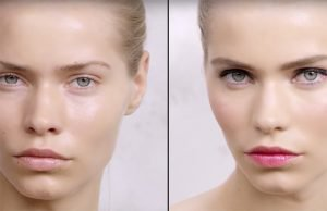 Un maquillaje romántico con YSL
