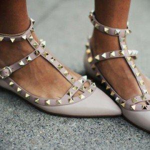 Zapatos planos para invitadas de boda