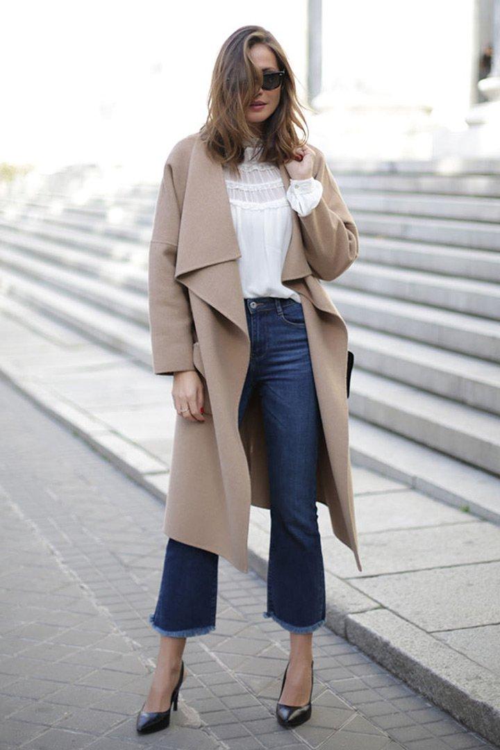 lady addcit con abrigo camel looks que no pasan de moda