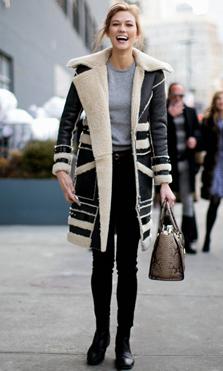 Abrigos y chaquetas de borrego