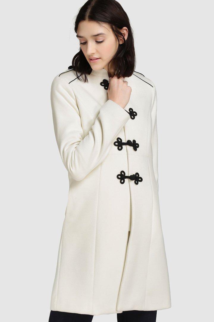 abrigos de invierno 2017, el corte inglés, abrigo blanco de Tintoretto