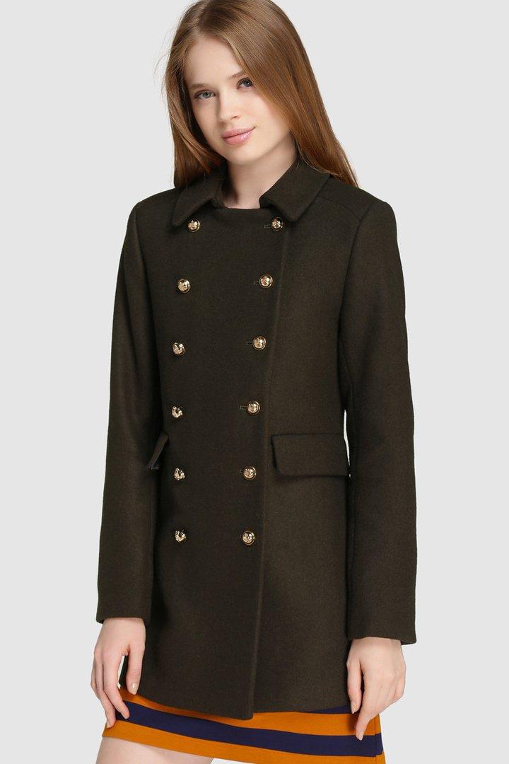 abrigos de invierno 2017, el corte inglés, abrigo militar de easy wear