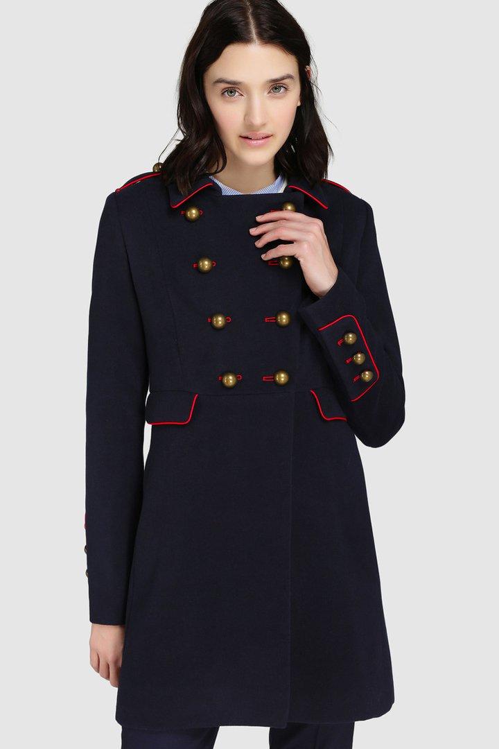 abrigos de invierno 2017, el corte inglés, abrigo militar de tintoretto