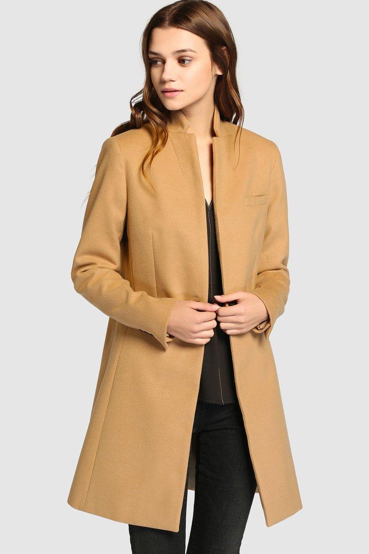 abrigos de invierno 2017, el corte inglés, abrigo camel de tintoretto