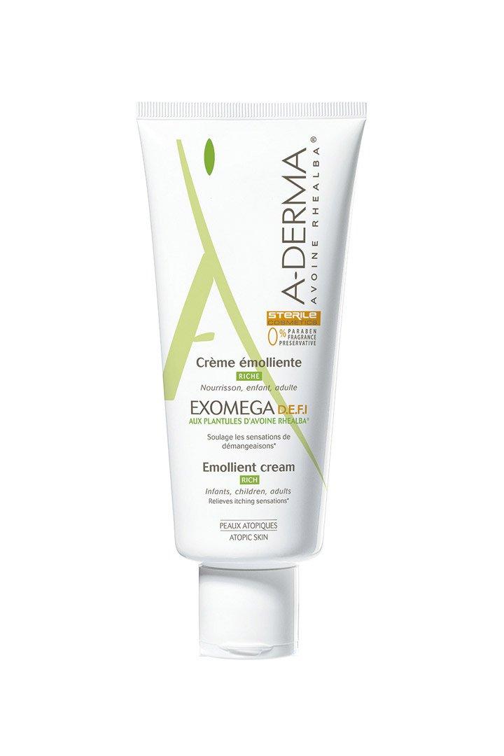 Crema Defi Exomega de A-derma: Mejores cremas hidratantes corporales