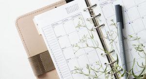 Agenda de septiembre