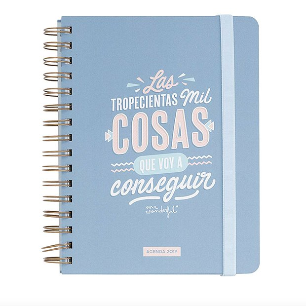 Agenda 2019 de Mr Wonderful