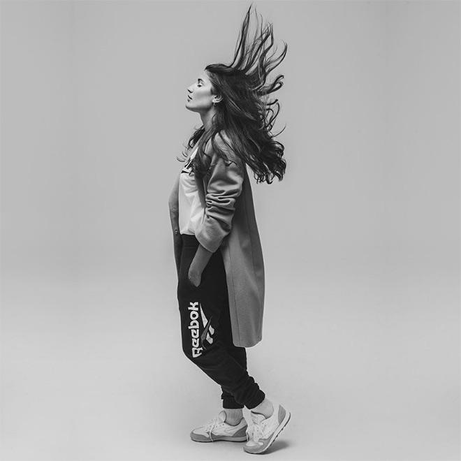 Alba Paul es el nuevo fichaje de Reebok para la campaña Perfect Split