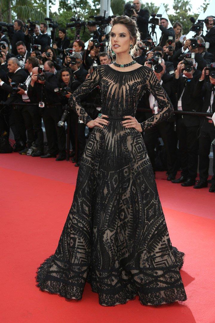 Alessandra Ambrosio Cannes 2018