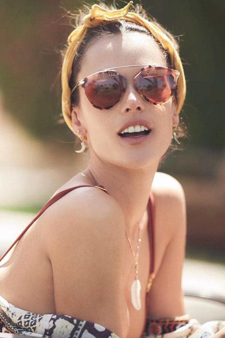 Alessandra Ambrosio nos inspira con sus gafas de sol: Ideas verano 2018
