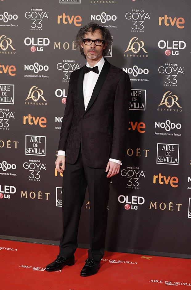 James Rhodes en la alfombra roja de los Premios Goya 2019